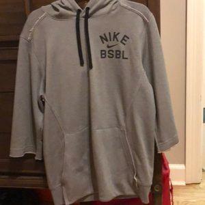Nike dri-fit cutoff jacket